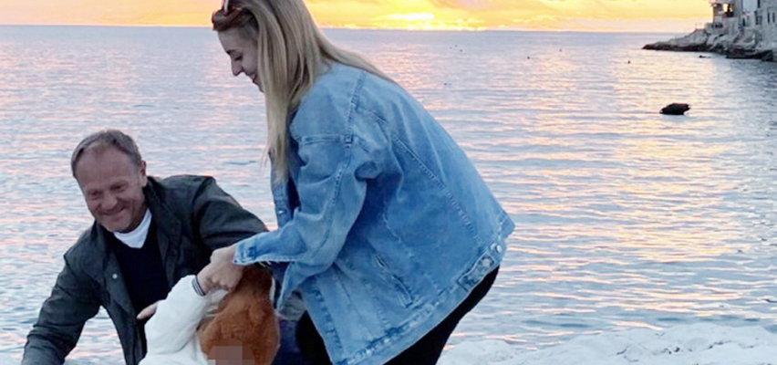 Tusk na wakacjach z córką i wnuczką