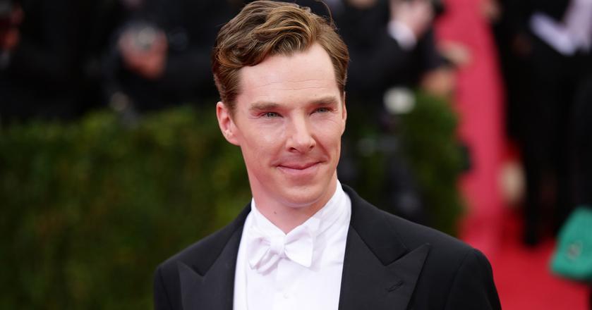 Benedict Cumberbatch na Met Gali w 2014 roku.