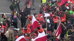 Awantura podczas Marszu Niepodległości