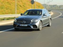 Mercedes-Benz C 220d 4Matic - szybko go polubisz | TEST