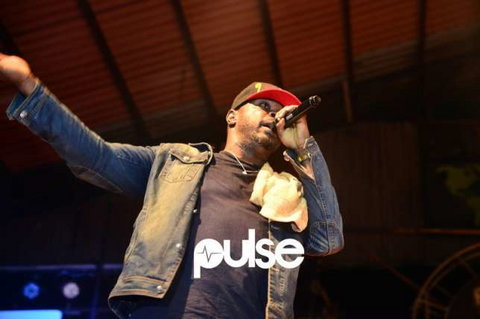 Eedris Abdulkareem, performing at a concert (Pulse)