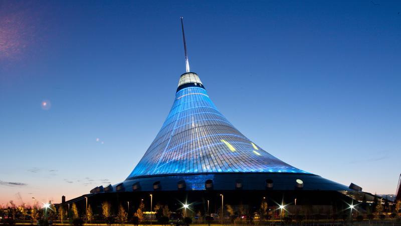 Kazachstan - Han Szatyr - największy namiot świata