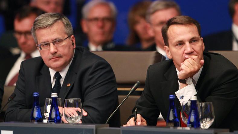 Prezydent i i szef MSZ na szczycie NATO
