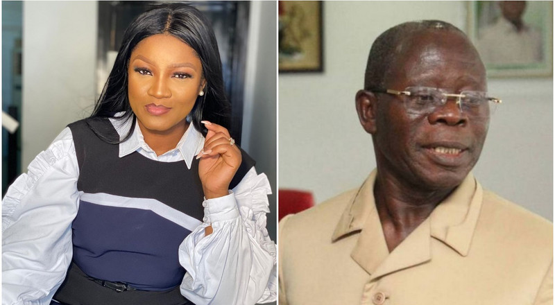 Omotola Jalade Ekeinde reacts to report of affair with Adams Oshiomhole