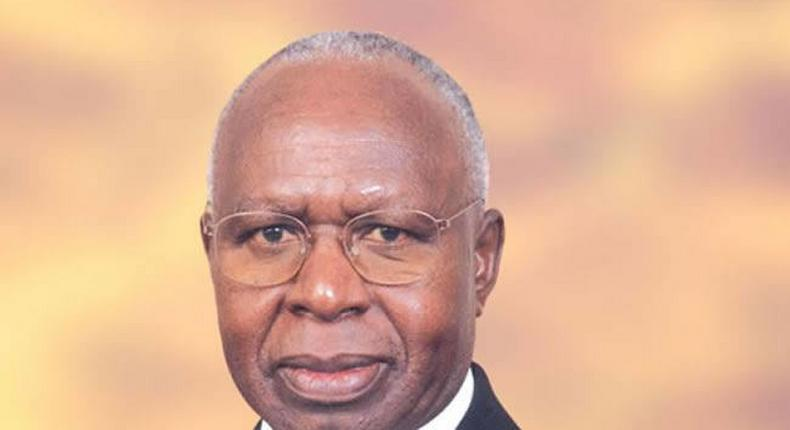 Former Cabinet Minister Simeon Nyachae is Dead