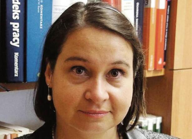"""Ewa Kędzior, koordynator Komisji Krajowej NSZZ """"Solidarność"""" ds. ochrony praw związkowych"""