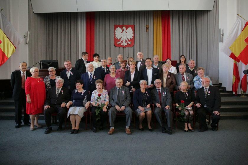 Złote Gody w Łodzi i medale od prezydenta