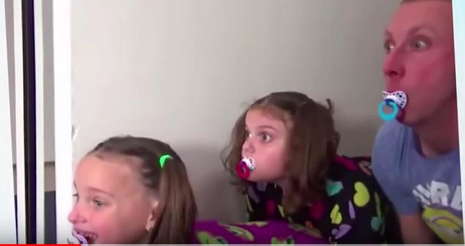 Ovaj snimak redovno završava na listama najbizarnijih na jutjubu