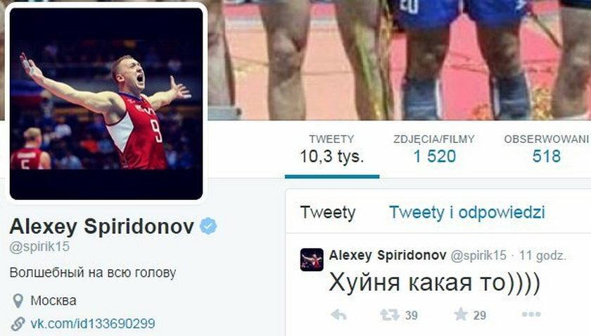 Skandal w wykonaniu Aleksieja Spirydonova
