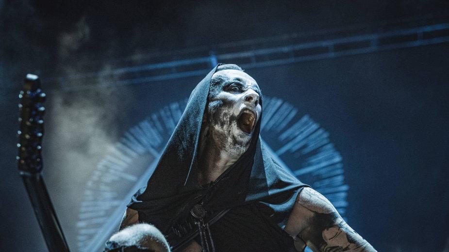 Nergal na koncercie w Kopenhadze, luty 2020 r.