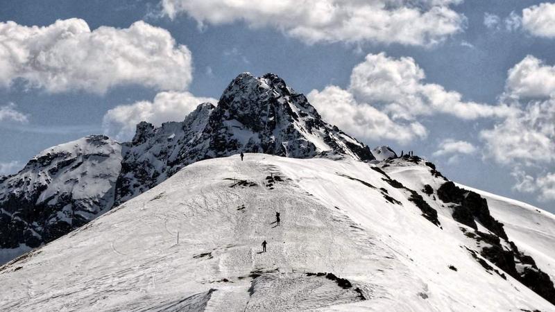Kwiecień, czyli zima w Tatrach - wycieczka na nartach po Tatrach w ramach projektu Bezpieczny Skituring