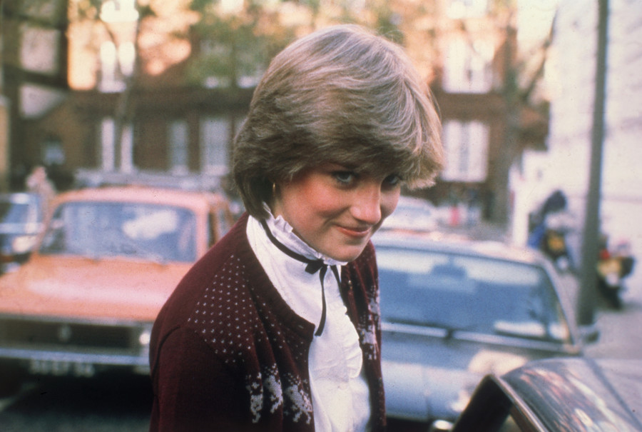 Diana Spencer, narzeczona księcia Karola, 1980 rok /Foto Central Press / GettyImages-3238580