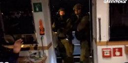 Interwencja straży granicznej na statku Greenpeace