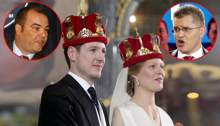 jeremic jesic kraljevsko vencanje pokrivalica foto RAS Srbija