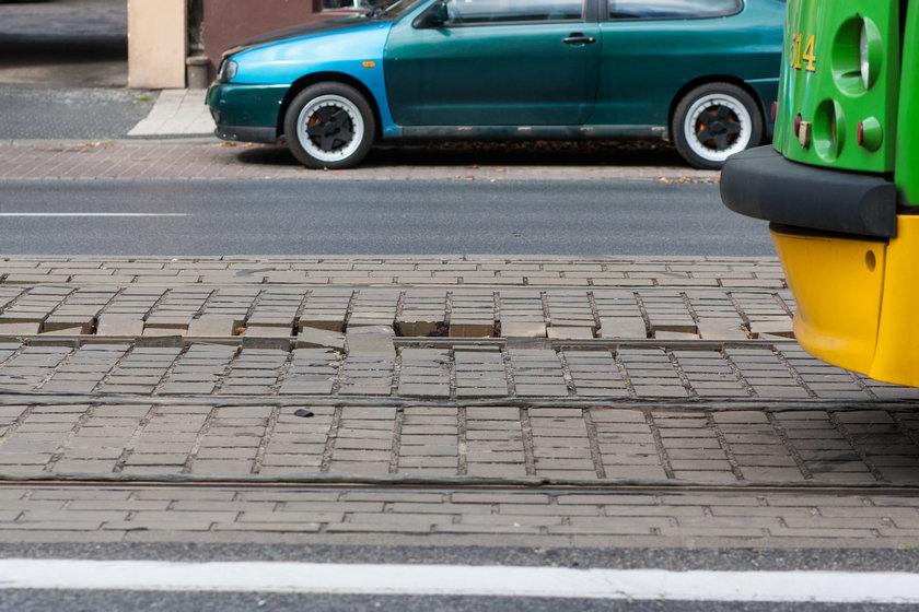 Awaryjna naprawa torowiska na ulicy Głogowskiej