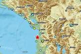 Zemljotres blizu granica Crne Gore i Albanije
