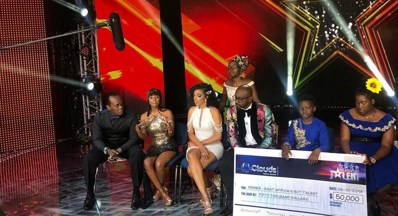 Uganda's Ezekiel and Esther crowned winners of East Africa got Talent 2019