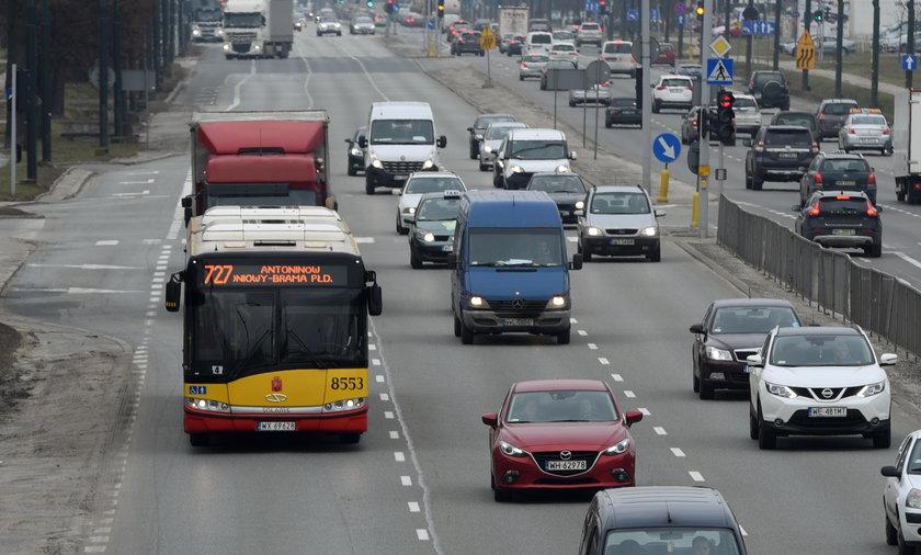 Wyremontują Puławską, ale buspasa nie będzie