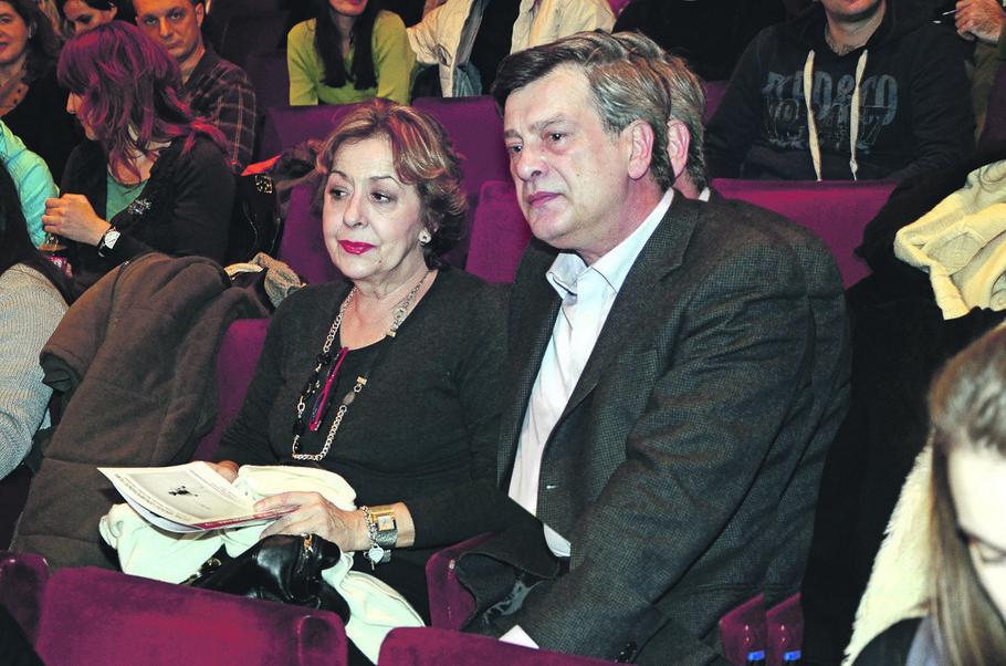 Svetlana Bojković i Slavko Kruljević