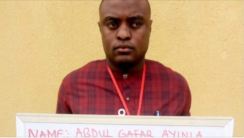 EFCC arrests Abdul Gafar Ayinla twoweeks to his inauguration as a member of Kwara state House of Assembly. (TheCable)