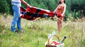 Wiosenna randka w plenerze