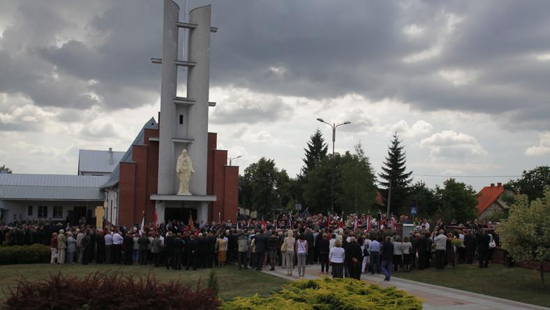 Pogrzeb Konstantego Miodowicza odbył się w kościele w Busku Zdroju