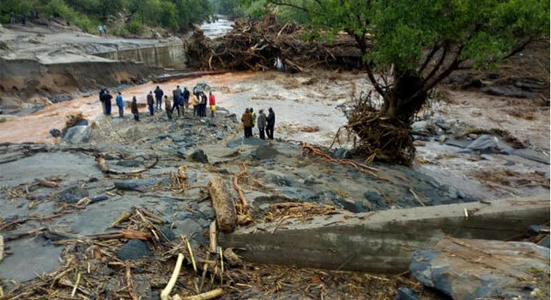24 confirmed dead, scores injured after being burried alive in tragic landslide