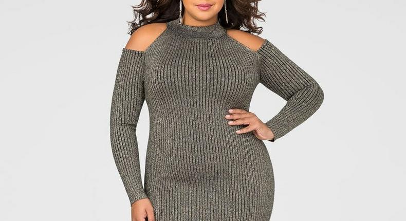 Rock a warm dress this cold season.
