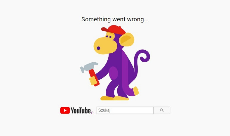 Awaria Google