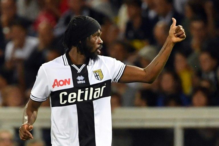 Ivorian forward Gervinho scored his third goal this season for Parma.
