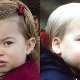 Księżniczka Charlotte to cały książę William. Podobieństwo jest uderzające