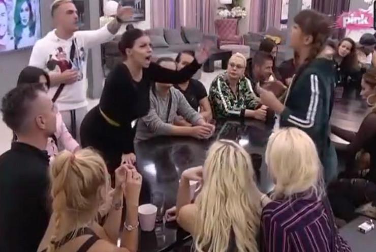 Miljana i Zerina, svađa