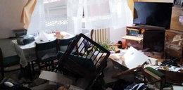 Tragedia w Białymstoku. Strażacy opublikowali zdjęcia wnętrza domu