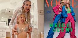"Córka Heidi Klum debiutuje z mamą na okładce "" Vogue'a"""