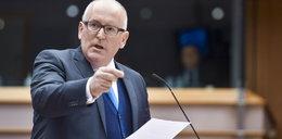 Timmermans nie odpuszcza. Brak porozumienia KE z Polską