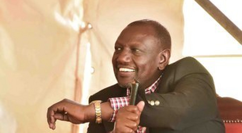 Ruto admits being a spectator in new attack on the government