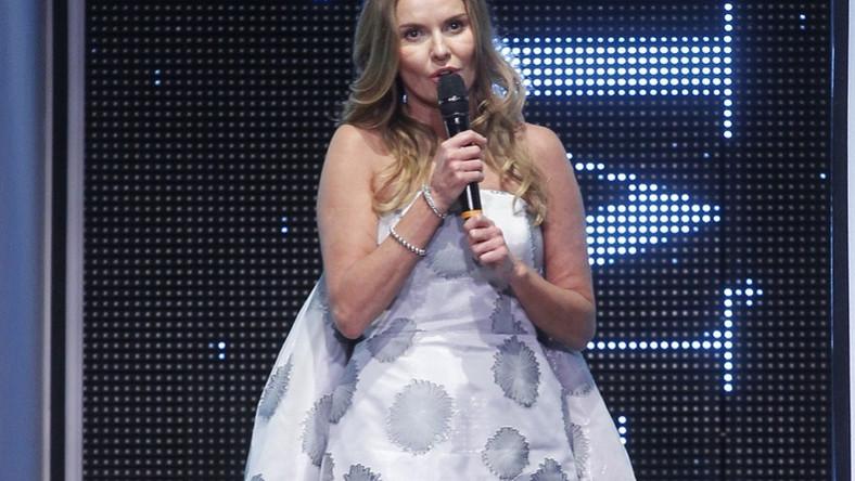 Ta suknia nie podkreślała jej atutów