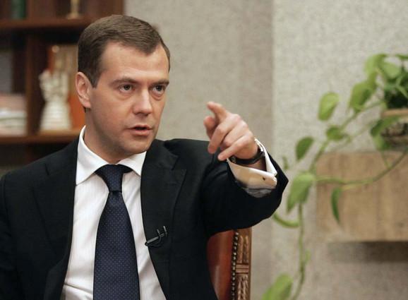 Strogo: Dmitrij Medvedev, predsednik Ruske Federacije