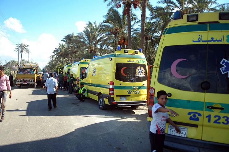 Egipat, hitna pomoć