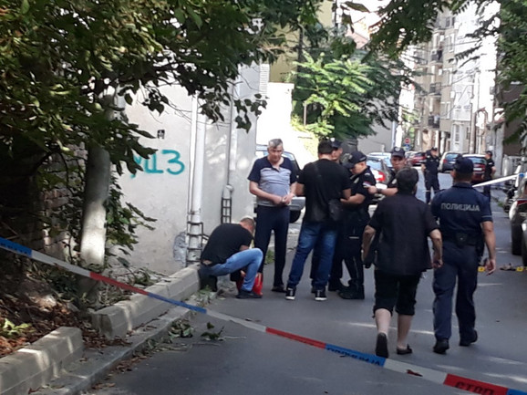 Policija je brzo došla na mesto pucnjave