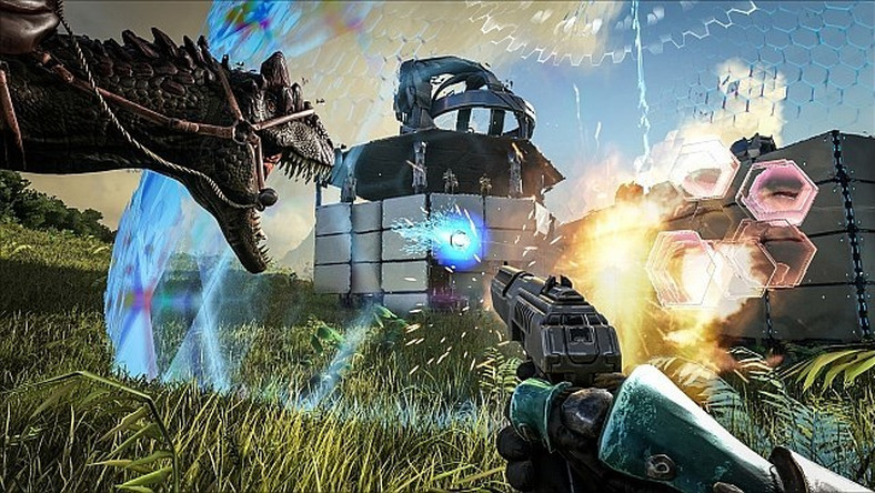 ARK: Survival Evolved w 1080p/60fps na Xbox One X
