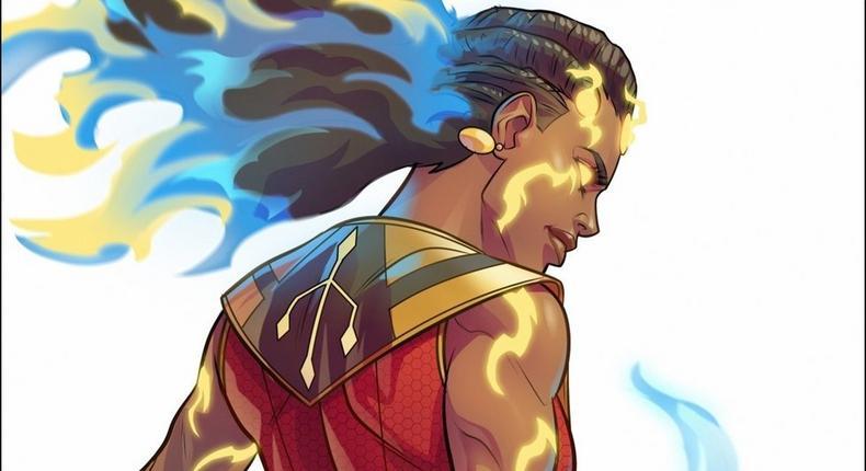 'Hawi', Ethiopia's first female superhero comic . (Etan Comics)