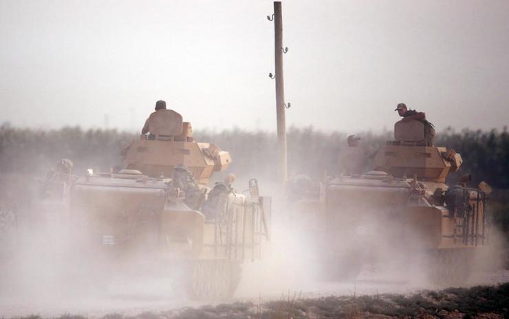 Turska vojska EPA STR1