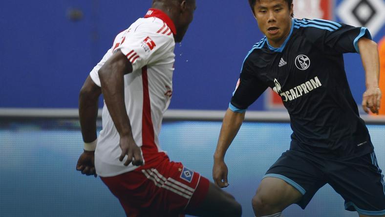 Hao Junmin (z prawej)