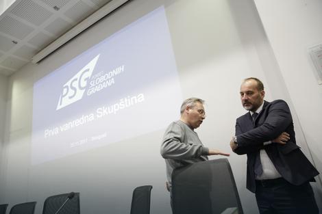 Pokret slobodnih građana: Saša Janković