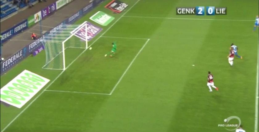 Gol widmo w lidze belgijskiej! WIDEO