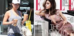 """Mila Kunis na okładce """"Elle"""". Znowu schudła?!"""