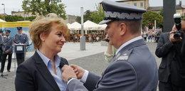 Hanna Zdanowska z medalem. Za zasługi dla policji