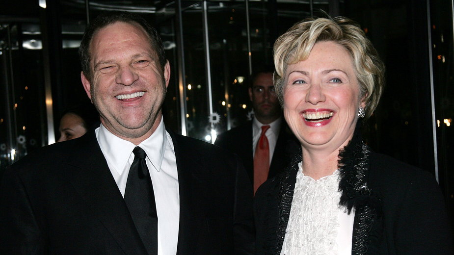 Hillary Clinton i Harvey Weinstein