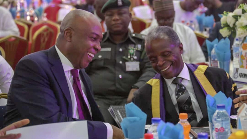 Inauguration: Osinbajo thanks Saraki for not taking advantage of power vacuum